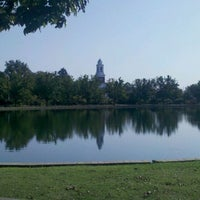Photo taken at Byrd Park Boat (Fountain) Lake by Jason H. on 9/1/2011