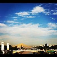 Photo taken at Ponte das Bandeiras by Madalena L. on 3/2/2012