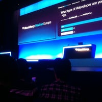 Photo taken at BlackBerry DevCon Europe at the Amsterdam RAI Convention Centre by Marco v. on 2/7/2012