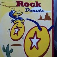 Photo taken at Round Rock Donuts by Bridger H. on 6/8/2011