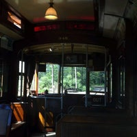 Photo taken at Shore Line Trolley Museum by Ben S. on 9/9/2012