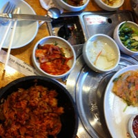 Photo taken at Korea Garden by Sean C. on 6/30/2012