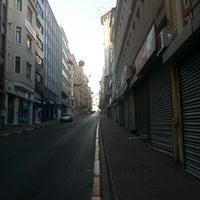 Photo taken at Bankalar Caddesi by Mert A. on 8/26/2012