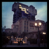 Photo taken at The Twilight Zone Tower of Terror by Anton K. on 10/27/2011