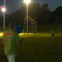 Photo taken at Patterson Park Kickball by Jonathan M. on 9/2/2011