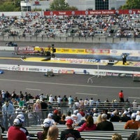 Photo taken at AAA Auto Club Raceway by ExtremeTix on 11/13/2011