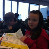 Photo taken at Concourse D by Paul M. on 2/22/2012