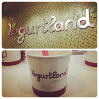 Photo taken at Yogurtland by Evan P. on 1/31/2012