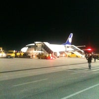 Photo taken at Blue Danube Airport Linz (LNZ) by Mark R. on 11/7/2011