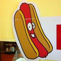 Photo taken at Sabrett Hot Dogs by Lynda W. on 4/12/2012