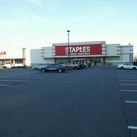 Photo taken at Staples by Greg S. on 1/1/2012