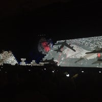 Photo taken at Roger Waters: The Wall by Sterling P. on 7/8/2012