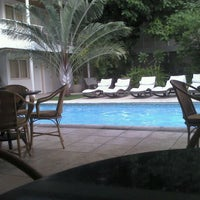 Photo taken at Hotel Aconchego by Missila C. on 9/4/2011