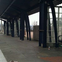 Photo taken at TriMet Beaverton Central MAX Station by Rob M. on 1/30/2011