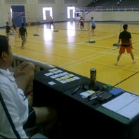 Photo taken at Salah AlDin Sports Hall صالة صلاح الدين الرياضية by Marco on 11/25/2011