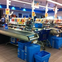 Photo taken at Albert Heijn by Paula .. on 9/17/2011