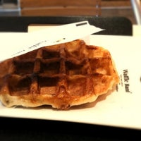 Photo taken at Waffle Bant by Haemee L. on 3/6/2012