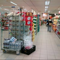 Photo taken at Albert Heijn by Don H. on 11/4/2011