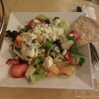 Photo taken at Crispers Fresh Salads, Soups and Sandwiches by Tina D. on 10/25/2011