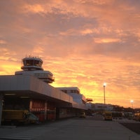 Photo taken at Blue Danube Airport Linz (LNZ) by ric e. on 8/15/2012
