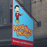 Photo taken at Nodding Head Brewery & Restaurant by David T. on 5/12/2011
