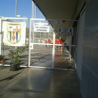 Photo taken at Municipal de L'Hospitalet by Santiago H. on 9/1/2012