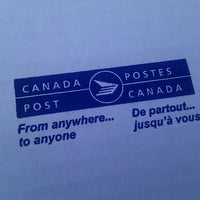Photo taken at Postes Canada by Jean-Francois P. on 9/27/2011