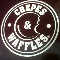 Photo taken at Crepes & Waffles by Nelida C. on 8/18/2012