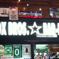 Photo taken at Fox Bros. Bar-B-Q by Patrick D. on 5/28/2012