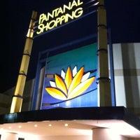 Photo taken at Pantanal Shopping by Denise N. on 4/13/2012