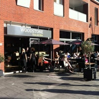Photo taken at Woodstone Pizza And Wine by Jeroen R. on 9/9/2012