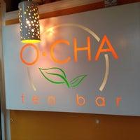 Photo taken at O-CHA Tea Bar by Caroline on 8/25/2012