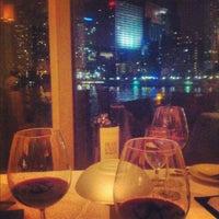Photo taken at Azul at Mandarin Oriental, Miami by Joel R. on 8/22/2012
