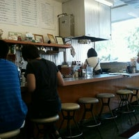 Photo taken at June's Cafe by Paty G. on 7/12/2012