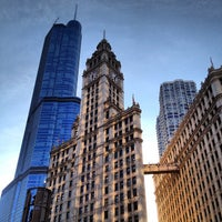Photo taken at Wrigley Building by Boris C. on 8/24/2012