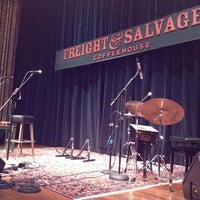 Photo taken at Freight & Salvage Coffeehouse by Tracie J. on 2/17/2012