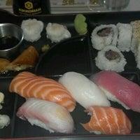 Photo taken at Fuji Sushi by Jon R. on 4/18/2012