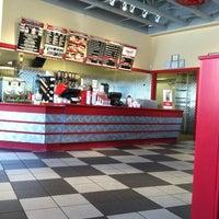 Photo taken at Freddy's Frozen Custard & Steakburgers by George J. on 4/21/2012