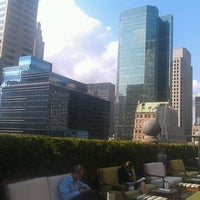 Photo taken at Mad 46 Rooftop Lounge by Christian P. on 5/25/2012