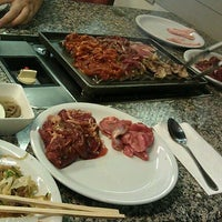 Photo taken at Palace BBQ Buffet by Yun T. on 1/10/2012