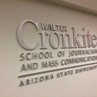 Photo taken at Walter Cronkite School of Journalism & Mass Communication by Joeh on 8/31/2012