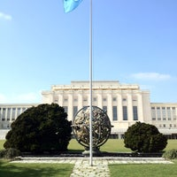 Photo taken at Palais des Nations by Yuri on 3/20/2012