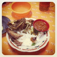 Photo taken at Ayam & Bebek Goreng Palupi by Nick S. on 6/20/2012
