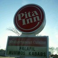 Photo taken at Pita Inn by Pretty K. on 3/10/2012