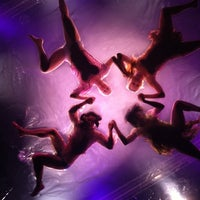 Photo taken at Daryl Roth Theatre (Fuerza Bruta Wayra) by Amber R. on 7/29/2011