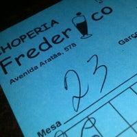 Photo taken at Frederico by Thiago M. on 1/3/2012
