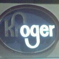 Photo taken at Kroger by Thomas B. on 1/13/2012