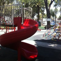 Photo taken at Parque José Mariano Muciño by Gabo R. on 9/18/2011