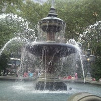 Photo taken at City Hall Park by Art S. on 9/3/2011