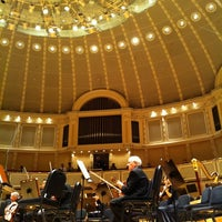 Photo taken at Symphony Center (Chicago Symphony Orchestra) by Clive M. on 1/7/2011